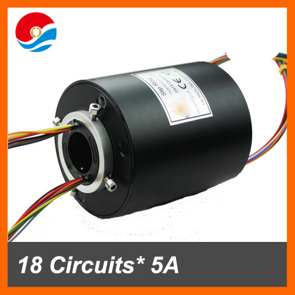 Electrical motor inner size 25.4mm 600RPM of through bore slip ring