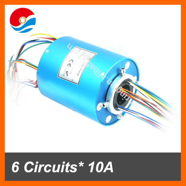 6 wires/circuits 10A and 12 wires signal contact with 25.4mm(1