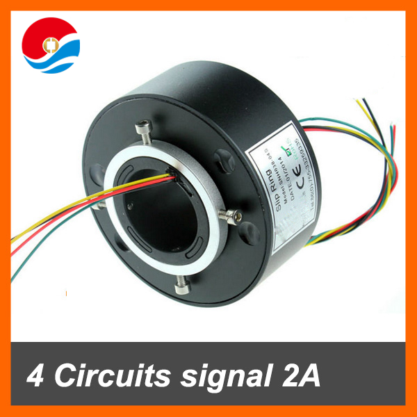 Senring Through hole slip ring 4 wires signal 2A with bore size 38.1mm
