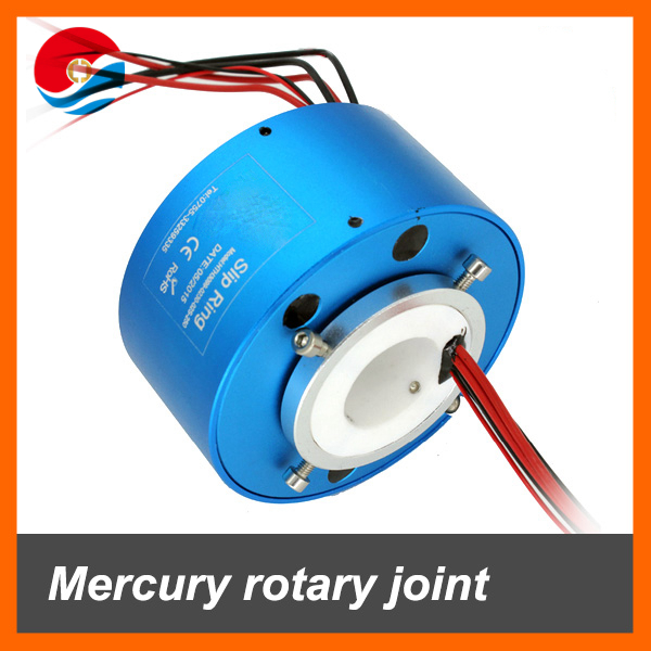 High temperature slip ring with hole size 30mm 2 wires 30A+2 wires signal 2A